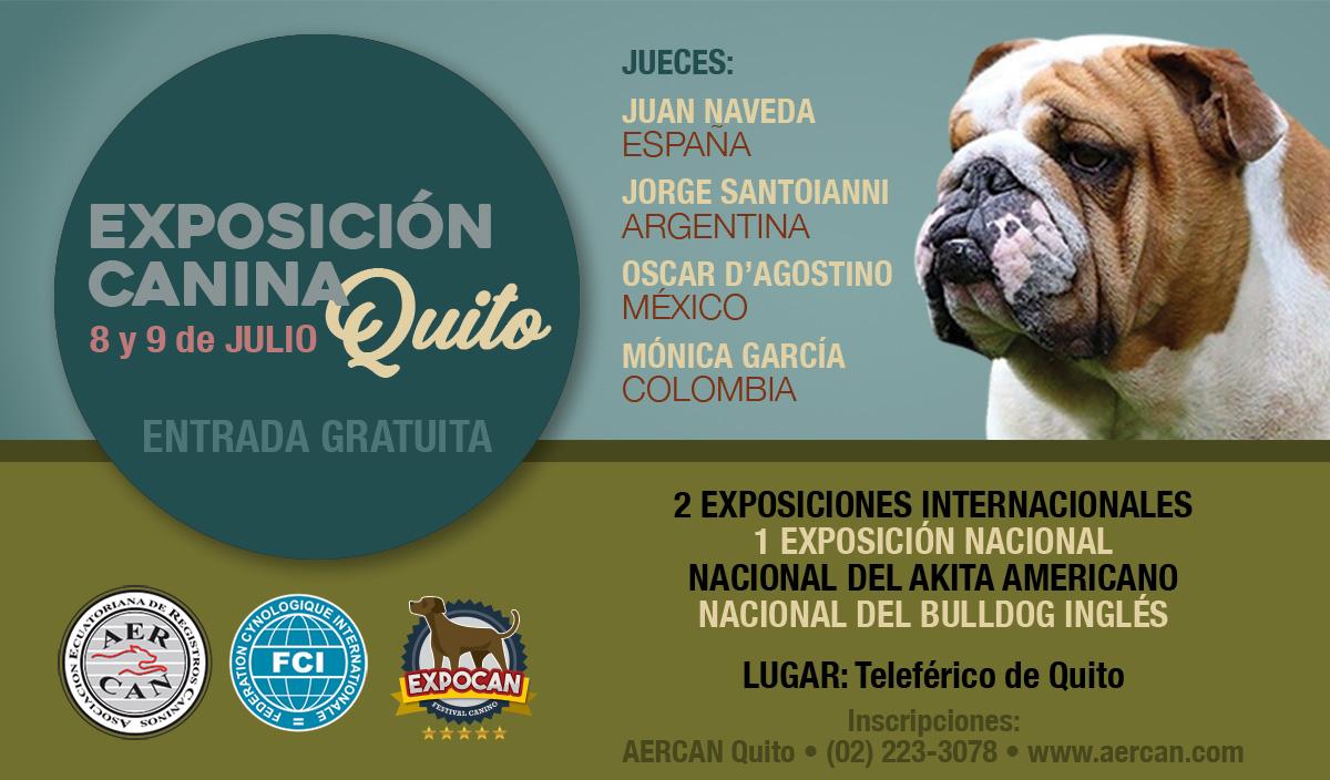 EXPOSICIONES 8 Y 9 DE JULIO DEL 2017 QUITO