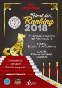 EXPOSICION FINAL DEL RANKING 2018